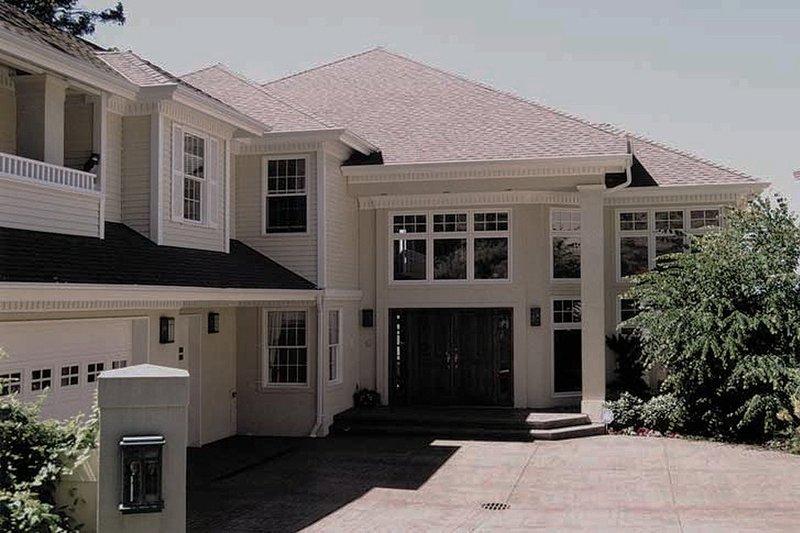 House Blueprint - Prairie Exterior - Front Elevation Plan #47-321