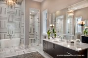 Contemporary Style House Plan - 5 Beds 5.5 Baths 7466 Sq/Ft Plan #930-513 Interior - Master Bathroom