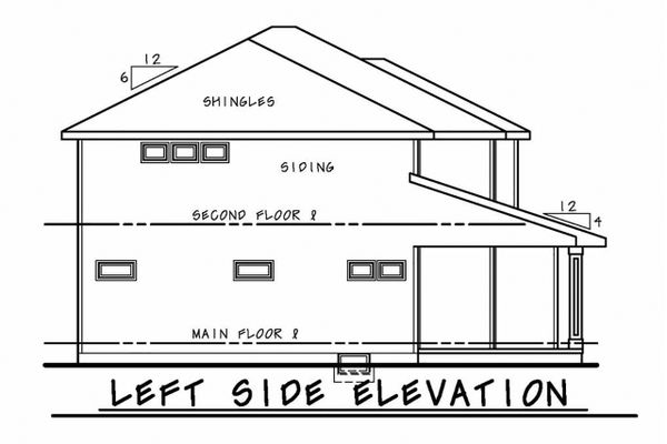 Dream House Plan - Left Side