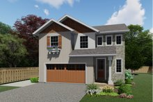 Architectural House Design - Farmhouse Exterior - Front Elevation Plan #126-213