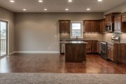 Ranch Style House Plan - 3 Beds 2.5 Baths 1426 Sq/Ft Plan #20-2290 Interior - Kitchen