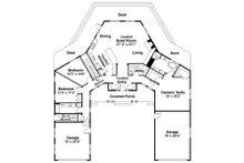 Ranch Floor Plan - Main Floor Plan Plan #124-729