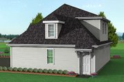 Traditional Style House Plan - 0 Beds 0 Baths 1092 Sq/Ft Plan #75-188 Exterior - Rear Elevation