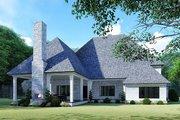 Mediterranean Style House Plan - 5 Beds 4.5 Baths 5615 Sq/Ft Plan #923-135 Exterior - Rear Elevation