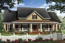 Home Plan - Country style Plan 21-313 front elevation