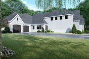 Contemporary Style House Plan - 3 Beds 3.5 Baths 3020 Sq/Ft Plan #17-3422 Exterior - Other Elevation
