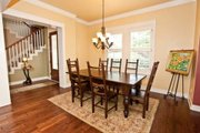 Craftsman Style House Plan - 4 Beds 3.5 Baths 3760 Sq/Ft Plan #80-205 Interior - Dining Room