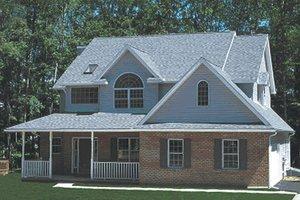 Farmhouse Exterior - Front Elevation Plan #20-2025