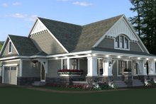 Home Plan - Craftsman Exterior - Front Elevation Plan #51-514