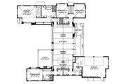 Beach Style House Plan - 4 Beds 3.5 Baths 3016 Sq/Ft Plan #426-13 Floor Plan - Main Floor Plan
