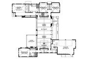 Beach Style House Plan - 4 Beds 3.5 Baths 3016 Sq/Ft Plan #426-13