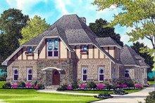 Home Plan - European Exterior - Front Elevation Plan #413-131