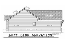 Dream House Plan - Craftsman Exterior - Other Elevation Plan #20-2182