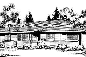 Traditional Exterior - Front Elevation Plan #85-103