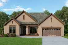 House Plan Design - Ranch Exterior - Front Elevation Plan #929-592