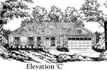 Ranch Exterior - Other Elevation Plan #40-252