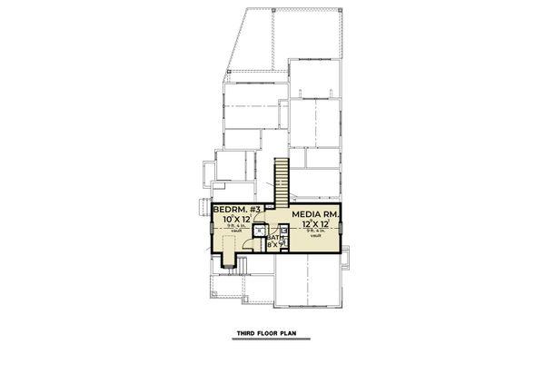 Home Plan - Farmhouse Floor Plan - Lower Floor Plan #1070-112