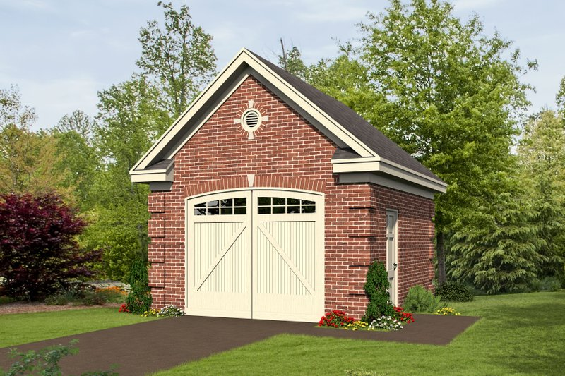 Dream House Plan - Country Exterior - Front Elevation Plan #932-218