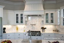 Architectural House Design - Tudor Interior - Kitchen Plan #929-947