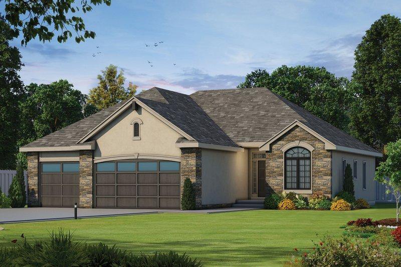 House Plan Design - Ranch Exterior - Front Elevation Plan #20-1869