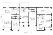Craftsman Style House Plan - 8 Beds 6.5 Baths 4658 Sq/Ft Plan #509-20 Floor Plan - Main Floor Plan