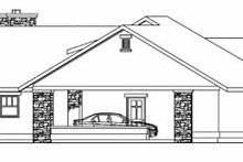 Dream House Plan - Ranch Exterior - Other Elevation Plan #124-705