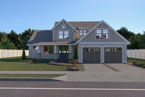 Craftsman Exterior - Front Elevation Plan #1070-70