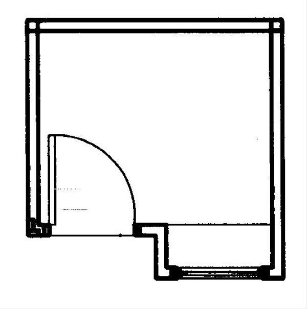 European Floor Plan - Main Floor Plan Plan #23-875