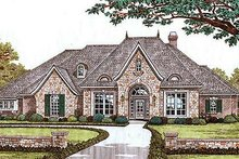 European Exterior - Front Elevation Plan #310-540