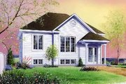 Traditional Style House Plan - 2 Beds 1 Baths 923 Sq/Ft Plan #23-158 Exterior - Front Elevation