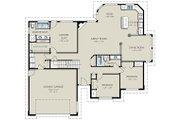 Ranch Style House Plan - 3 Beds 3 Baths 2106 Sq/Ft Plan #18-2004 Floor Plan - Main Floor Plan