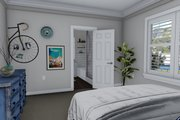 Ranch Style House Plan - 3 Beds 2 Baths 1493 Sq/Ft Plan #1060-39 Interior - Master Bedroom