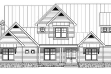 Dream House Plan - Traditional Exterior - Front Elevation Plan #932-212