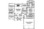 European Style House Plan - 3 Beds 2 Baths 1837 Sq/Ft Plan #21-367 Floor Plan - Main Floor Plan