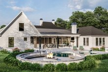 Dream House Plan - Traditional Exterior - Other Elevation Plan #406-9664
