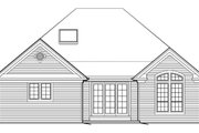 Craftsman Style House Plan - 2 Beds 2 Baths 1874 Sq/Ft Plan #48-279 Exterior - Rear Elevation