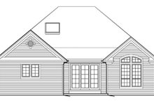 Craftsman Exterior - Rear Elevation Plan #48-279
