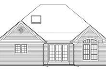 Dream House Plan - Craftsman Exterior - Rear Elevation Plan #48-279