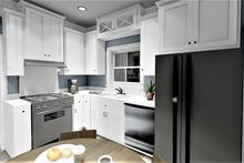 House Design - Farmhouse Interior - Kitchen Plan #44-224