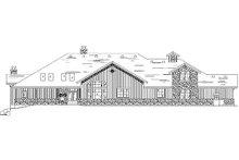 Home Plan - Bungalow Exterior - Rear Elevation Plan #5-414