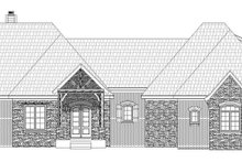Dream House Plan - Country Exterior - Front Elevation Plan #932-125