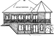 Modern Style House Plan - 3 Beds 1.5 Baths 1606 Sq/Ft Plan #23-241 Exterior - Rear Elevation