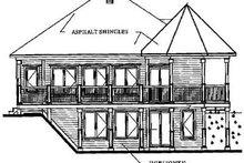 Modern Exterior - Rear Elevation Plan #23-241