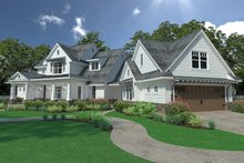 Architectural House Design - Farmhouse Exterior - Front Elevation Plan #120-251