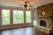Ranch Style House Plan - 3 Beds 3.5 Baths 2798 Sq/Ft Plan #437-88 Interior - Family Room