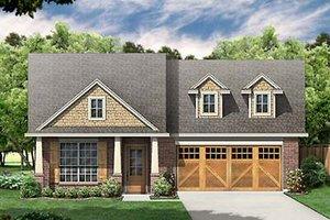 Craftsman Exterior - Front Elevation Plan #84-266