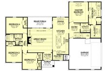 Traditional Floor Plan - Main Floor Plan Plan #430-228