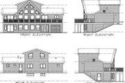 House Plan - 3 Beds 2 Baths 1692 Sq/Ft Plan #47-372 Exterior - Rear Elevation