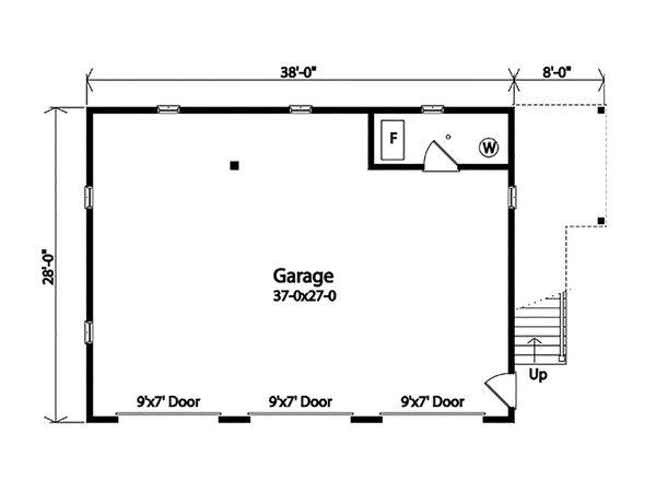 House Plan Design - Country Floor Plan - Main Floor Plan #22-612