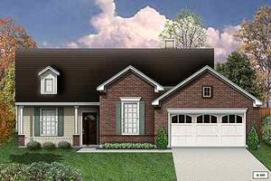 Traditional Exterior - Front Elevation Plan #84-130